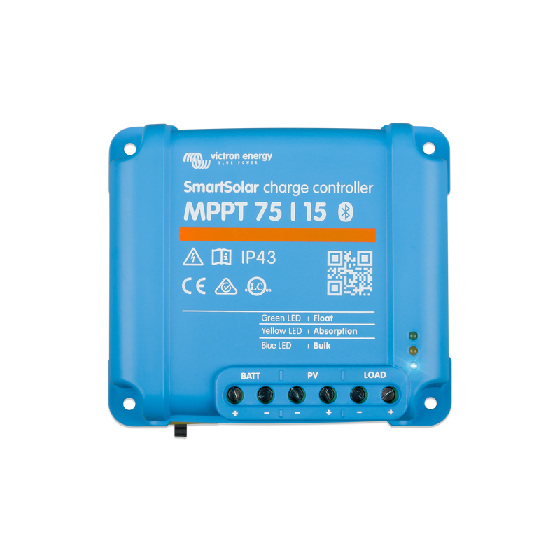 Régulateur de charge VICTRON Smart Solar MPPT 75-15 - APB Energy